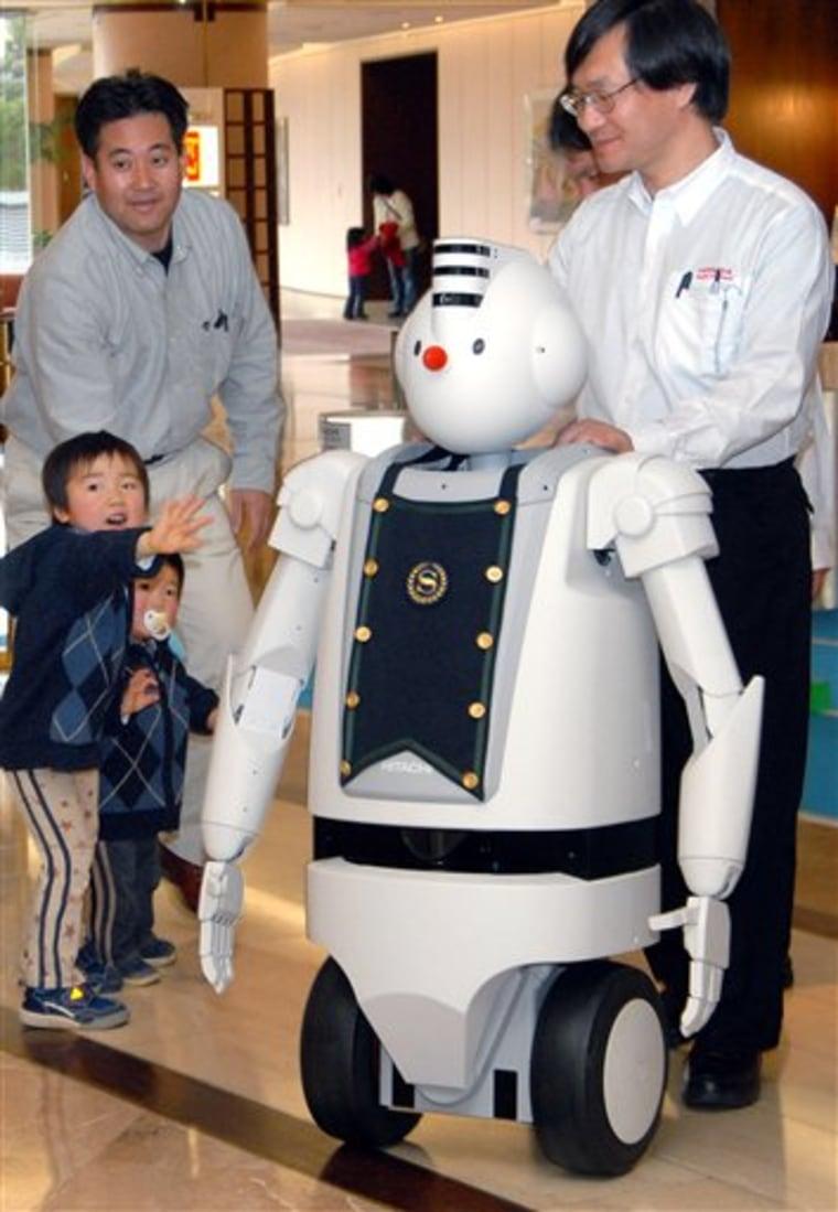 JAPAN HOTEL ROBOT