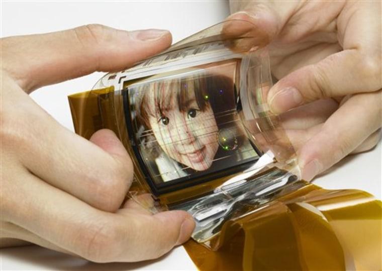 Japan Sony Thin Display