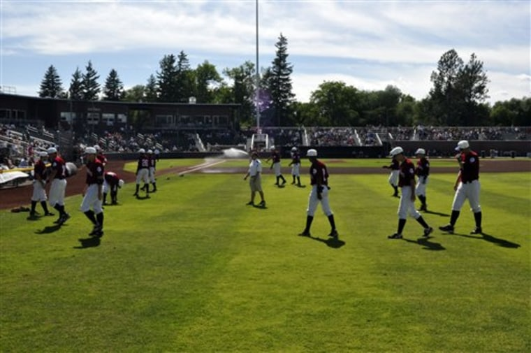 The Idaho Falls Chukars are pictured at Melaleuca Field in Idaho Falls, Idaho. Idaho Falls has the longest continuous team (since 1976) in the Pioneer League. The Chukars are named for a partridge-like bird and their new ballpark, Melaleuca Field, built in 2007, is situated next to Highland Park and the Snake River.
