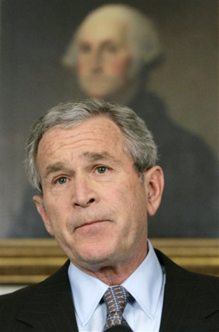 Bush Fired Prosecutors