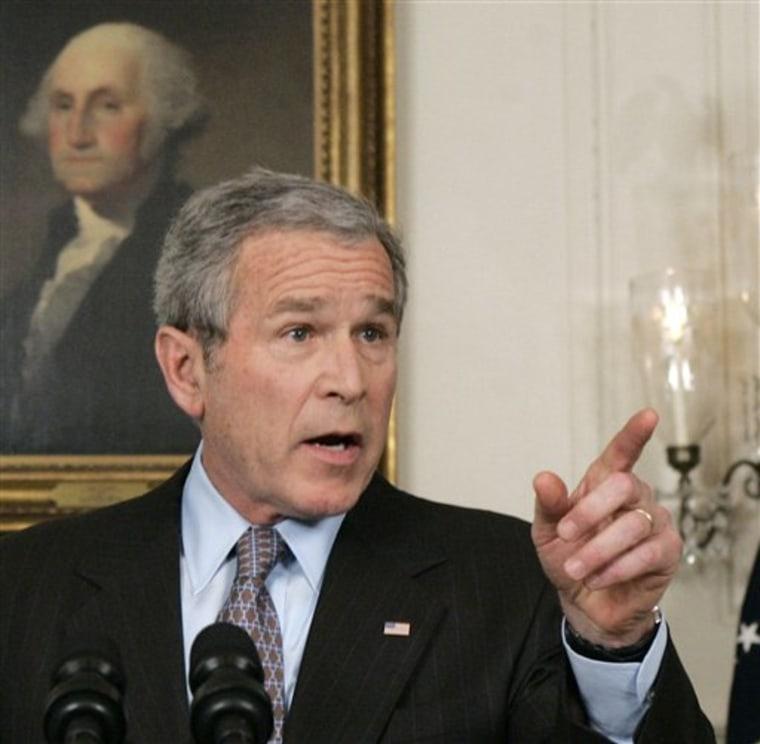 Bush Fired Prosecutors
