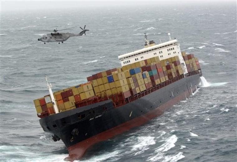 FRANCE SHIP RESCUE