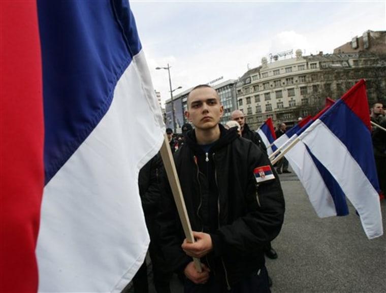 SERBIA NATO BOMBING ANNIVERSARY