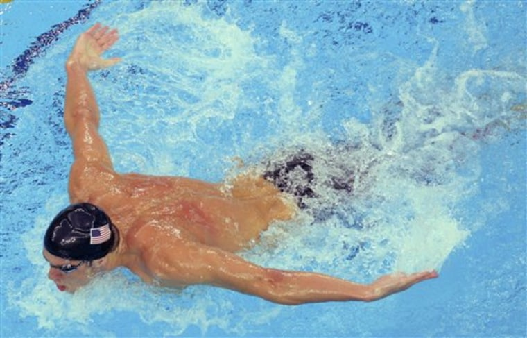 Beijing Olympics Swimming Mens Medleys