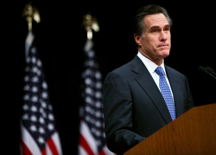 Romney Gives Speech On Faith In America