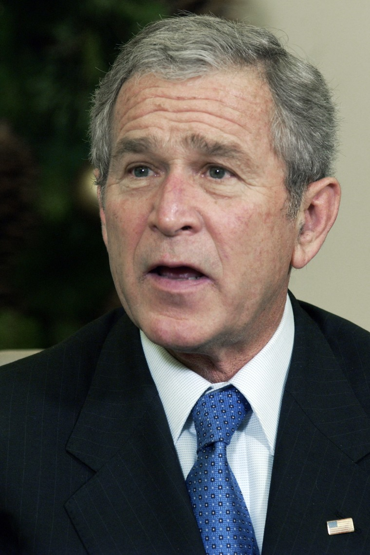 President Bush fought off Democratic attempts to broaden the program.