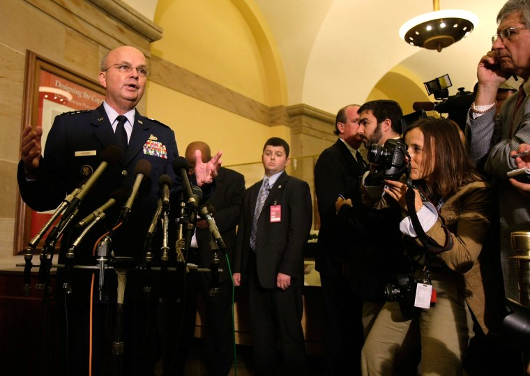 Hayden Briefs House Committee On Destruction Of CIA Tapes