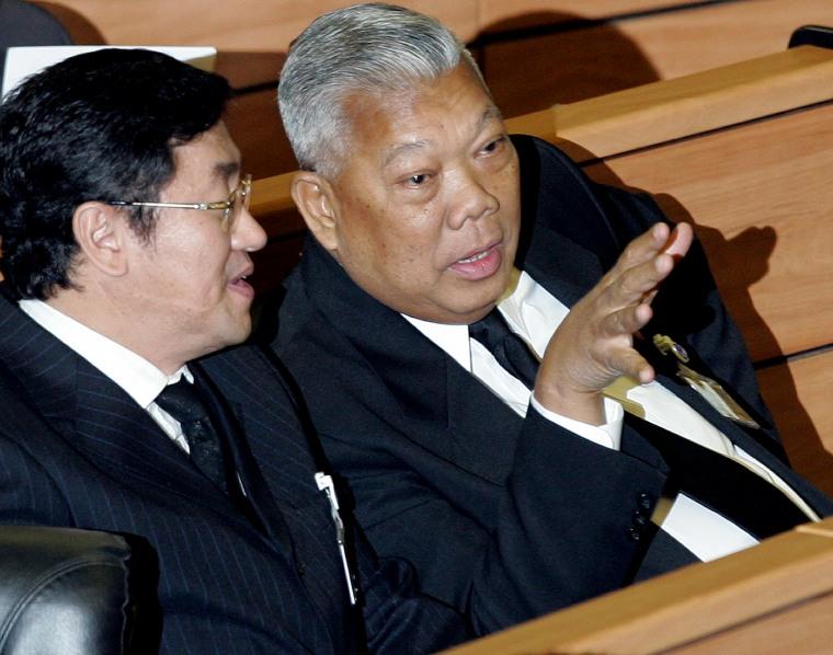 New Thai Prime Minister
