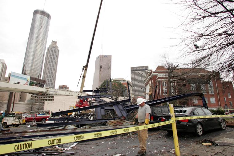 Tornado Sweeps Through Atlanta