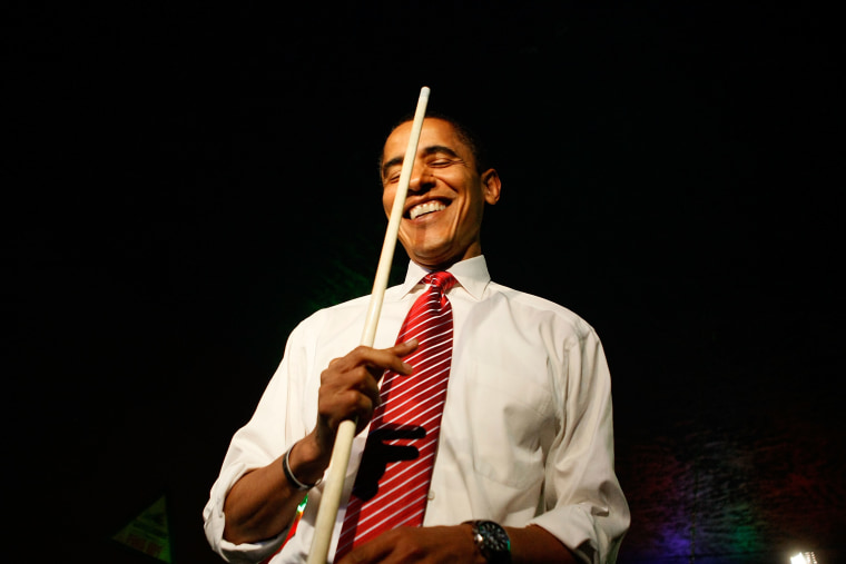 Barack Obama Campaigns Across U.S. Ahead Of Primaries