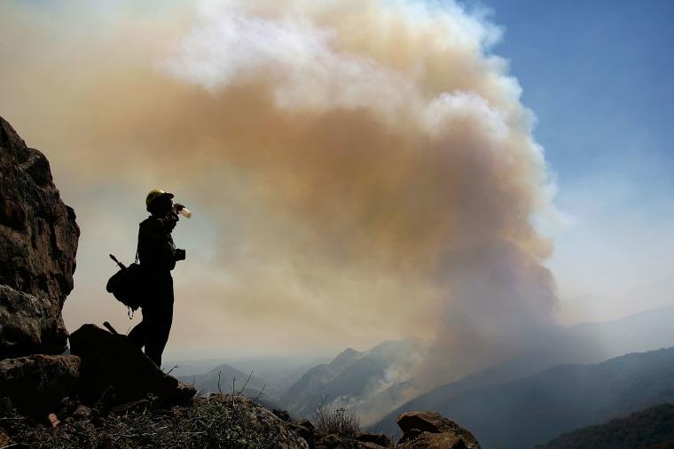 Wildfires Threaten Santa Barbara County