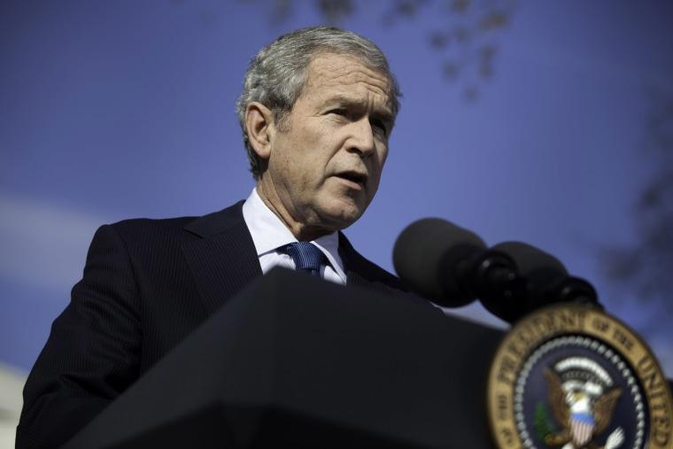 President Bush Speaks On The Economic Crisis