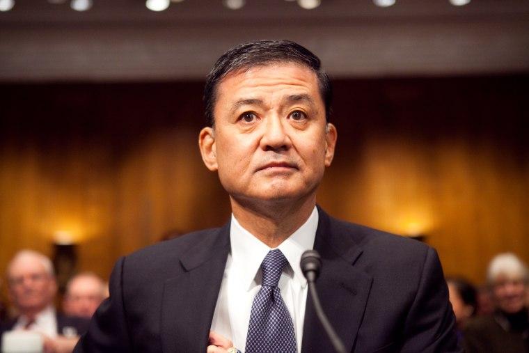Senate Holds Confirmation Hearing For Eric Shinseki