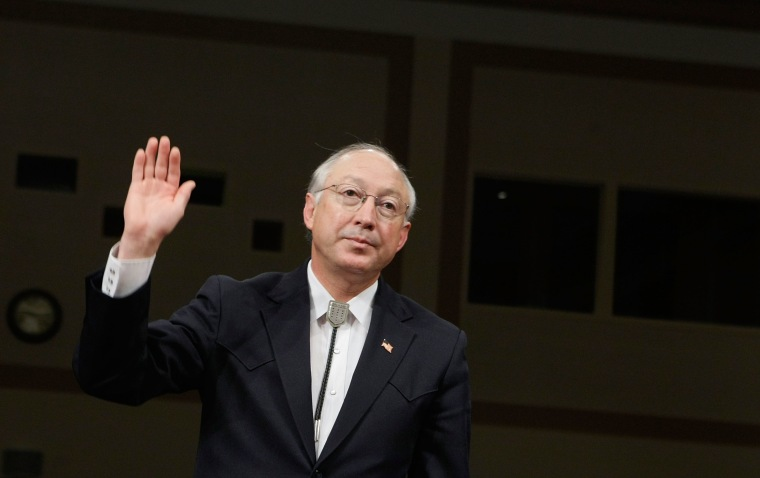 Interior Secretary Designate Salazar Testifies At Confirmation Hearing