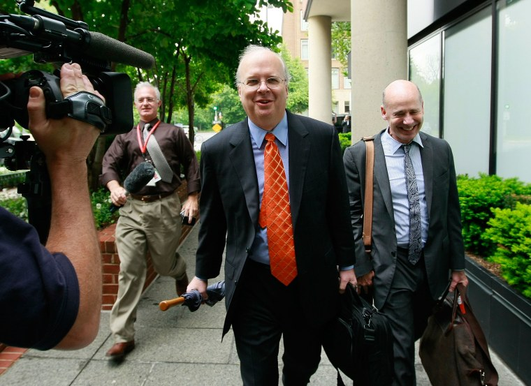 Karl Rove Questioned In Investigation Into Firings Of Fed. Prosecutors