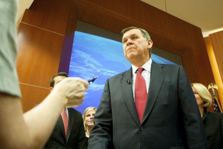 Sen. Mel Martinez (R-FL) Announces His Resignation