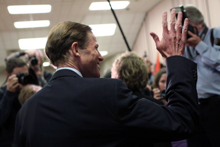 Richard Blumenthal Responds To Newspaper Story On His Military Record