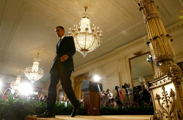 Obama Holds Press Conference On BP Oil Spill
