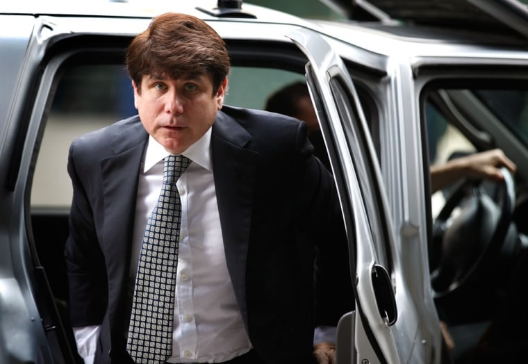 Image: Blagojevich Arrives At Court For Corruption Trial