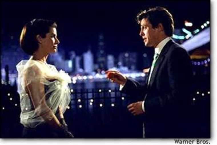 """Sandra Bullock and Hugh Grant in """"Two Weeks Notice,"""" a Warner Bros. comedy doing robust business overseas, including Germany and Turkey."""