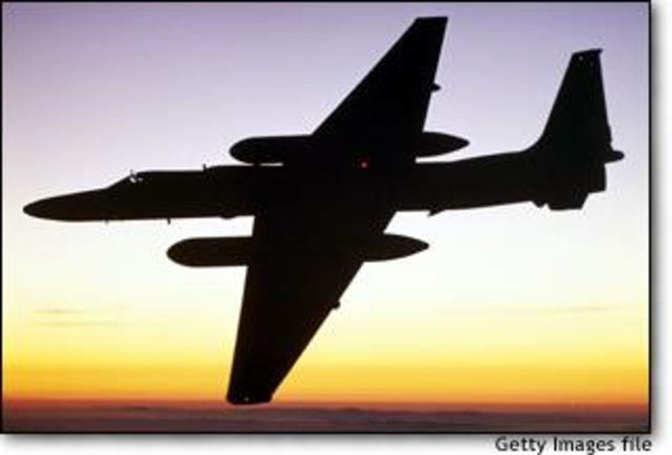 A U-2, operated by the United States but bearing markings of the United Nations, was flown over Iraq earlier this week as part of the U.N. weapons inspections.