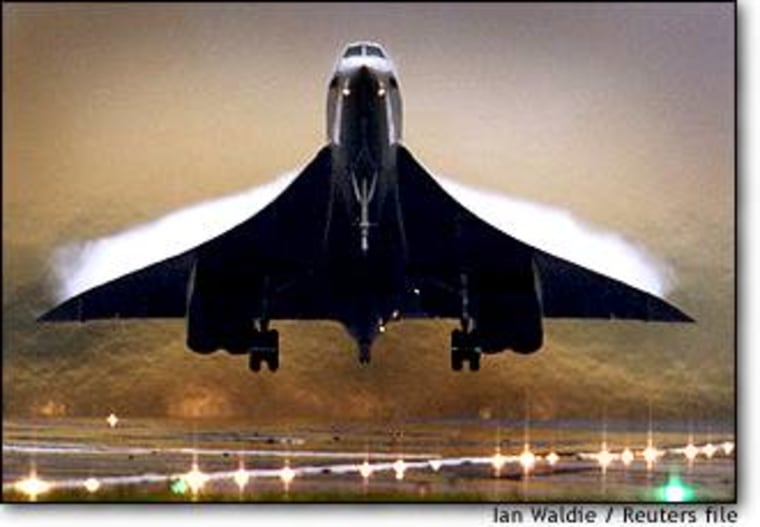 'The decision to retire Concorde has been based on a long-term revenue and cost trend rather than recent events,' British Airways chief executive Rod Eddington said in April.