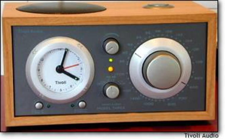 The Model Three is beautiful, sounds incredible, and wakes you up on time. What more could you ask from a top-flight clock radio?