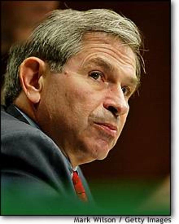 Deputy Defense Secretary Paul Wolfowitz testified before the Senate Armed Services Committee in September.
