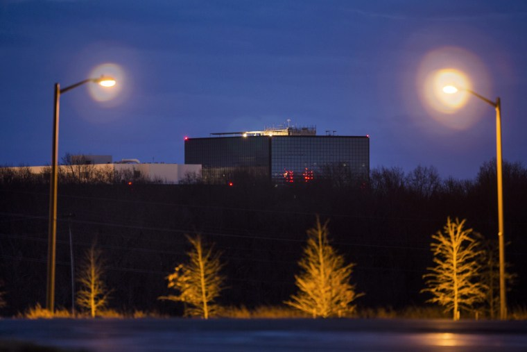 The NSA headquarters in Fort Meade, Maryland, Dec. 22, 2013.