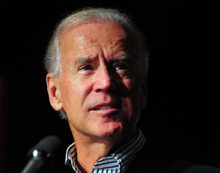 Vice President Joe Biden. (AP Photo/The Charlotte Observer, Jeff Siner)