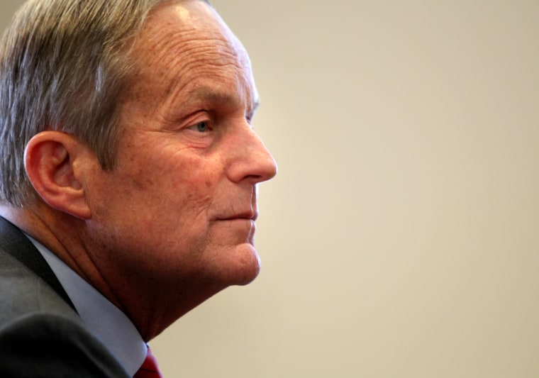 Republican candidate for Senate, U.S. Rep. Todd Akin, lost to Claire McCaskill. (Christian Gooden/AP Photo/St. Louis Post-Dispatch, )