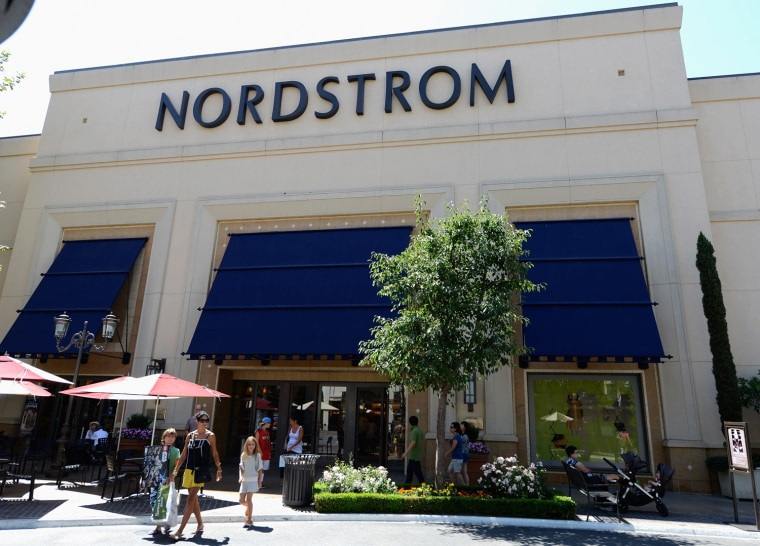 A new report from DEMOS argues that raising wages for retail workers can actually help businesses, like Nordstrom and other department stores, grow. (Photo: Kevork Djansezian/Getty Images)