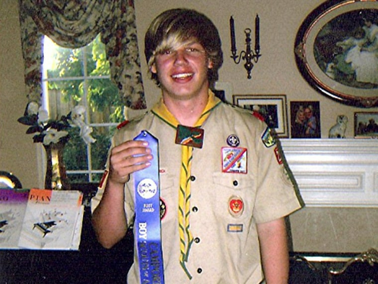 Ryan Andresen was recently denied his Eagle Scout award because of his sexuality (Photo: courtesy of the Andresen family)