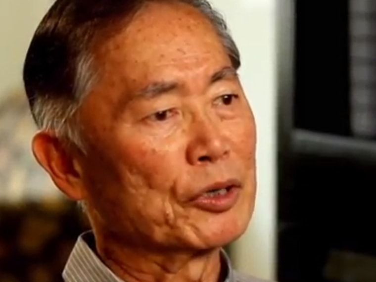 George Takei is one of several LGBT celebrities endorsing President Obama in a new campaign ad