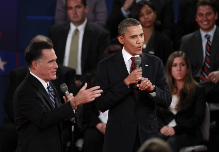 """Mitt Romney defended his """"self-deportation"""" stance during Tuesday's debate. (Photo: REUTERS/Jason Reed)"""