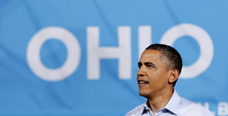 In this May 5 photo, President Barack Obama arrives to speak at a campaign rally at The Ohio State University, in Columbus, Ohio. (Photo: Haraz N. Ghanbari/AP/File)