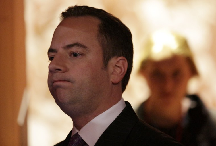 Republican National Committee Chairman Reince Priebus. (Photo: REUTERS/John Gress)