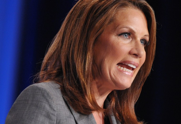 Rep. Michele Bachmann speaks during The Family Research Council (FRC) Action Values Voter Summit on September 14, 2012 at a hotel in Washington, D.C. (Photo: AFP/Getty Images/Mandel Ngan)