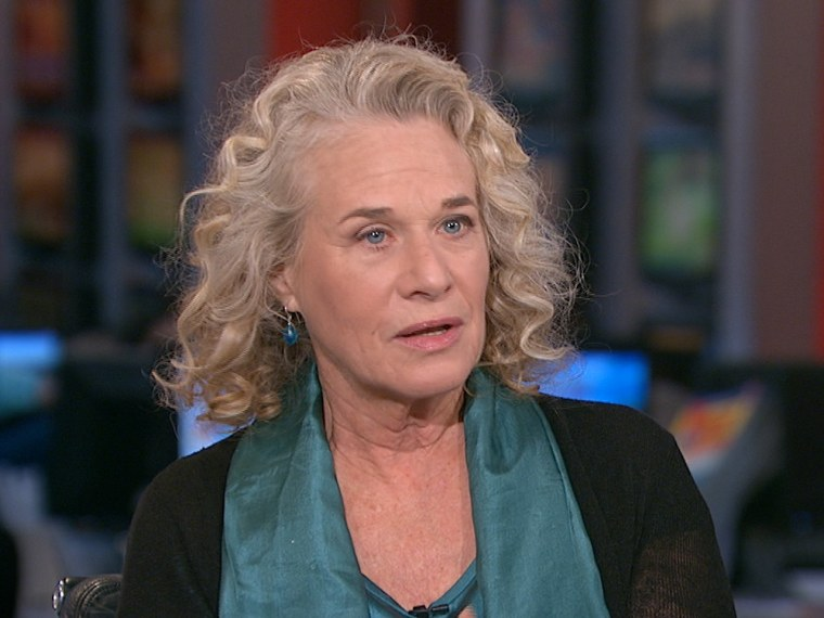 Legendary singer and songwriter Carole King talks about how she weathered Hurricane Sandy in New York City, and the issues it brings up for local communities and their representatives.