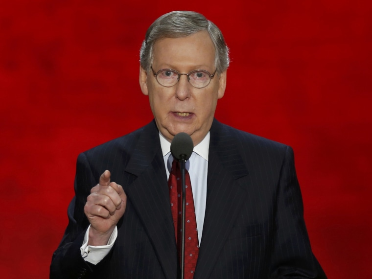 U.S. Senate Minority Leader Mitch McConnell (Photo: REUTERS/Mike Segar)