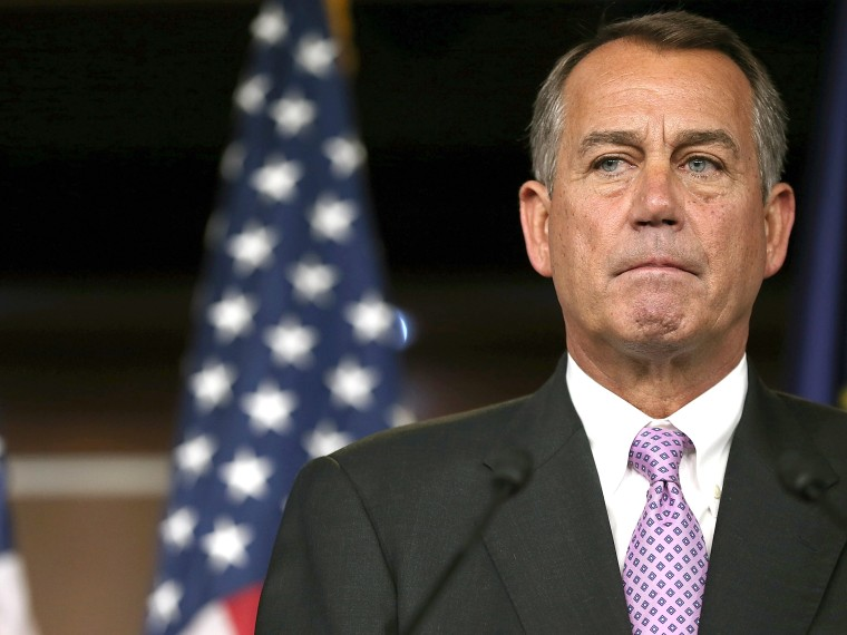 House Speaker John Boehner. (Photo by Win McNamee/Getty Images)