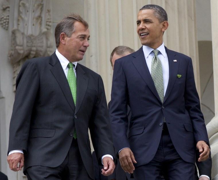 House Speaker John Boehner and President Obama (Carolyn Kaster/AP Photo)