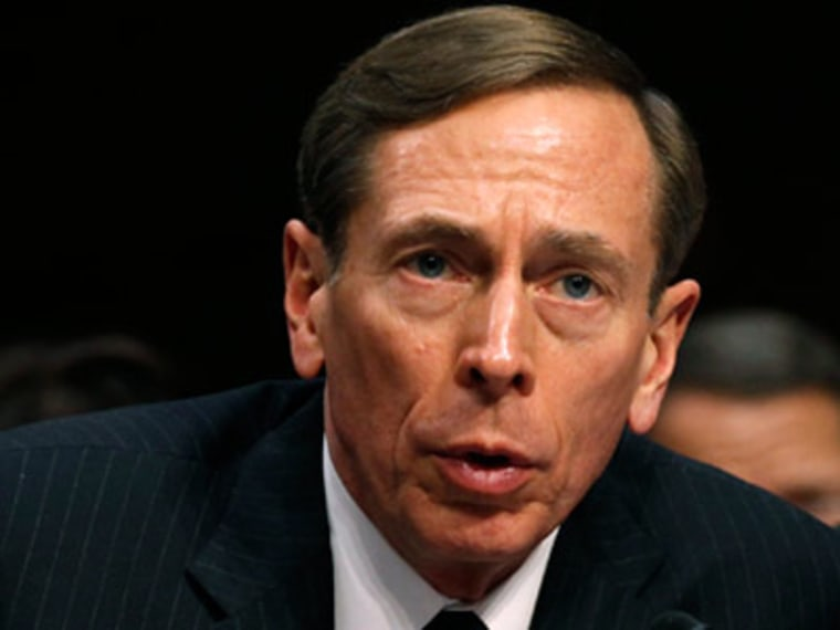 CIA Director David Petraeus (Kevin Lamarque/Reuters)