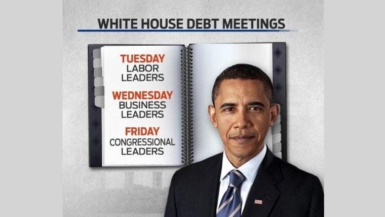 White House Debt Meeting