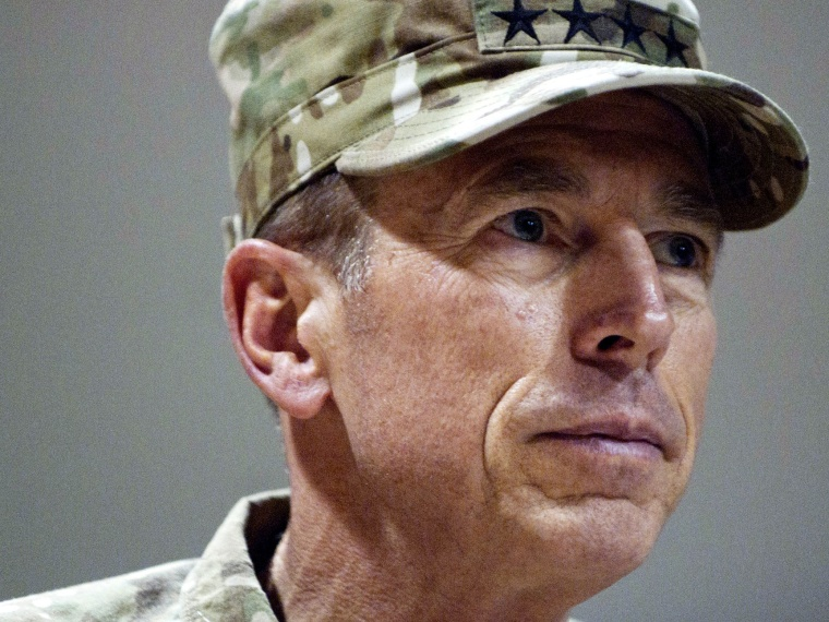Former CIA-director David Petraeus is the latest in a long line of prominent Washington figures to find himself embroiled in a sex scandal. (Photo by Haraz N. Ghanbari/Reuters/U.S. Navy/Handout)