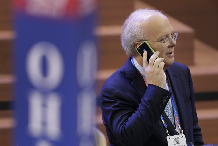 Karl Rove at the Republican National Convention in Tampa, Fla., on  Aug. 28, 2012. (File photo by J. Scott Applewhite/AP)