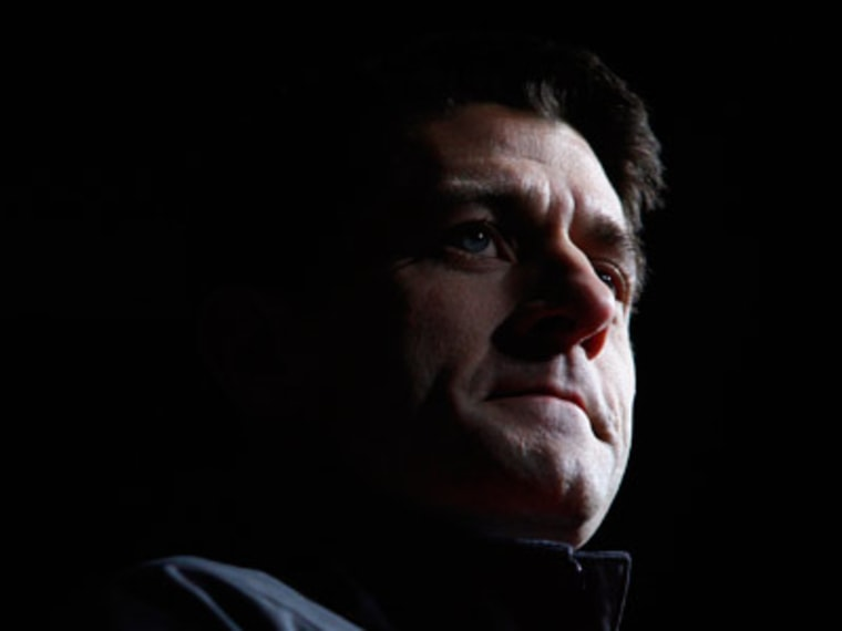 Paul Ryan at a campaign event in Vienna, Ohio on November 5. (Eric Thayer/Reuters)