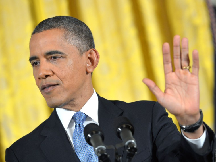 US President Barack Obama speaks during a press conference November 14, 2012 in the East Room of the White House in Washington, DC.  Obama said Wednesday he was ready to work closely with opposition Republicans on a plan to avoid the fiscal cliff, with...