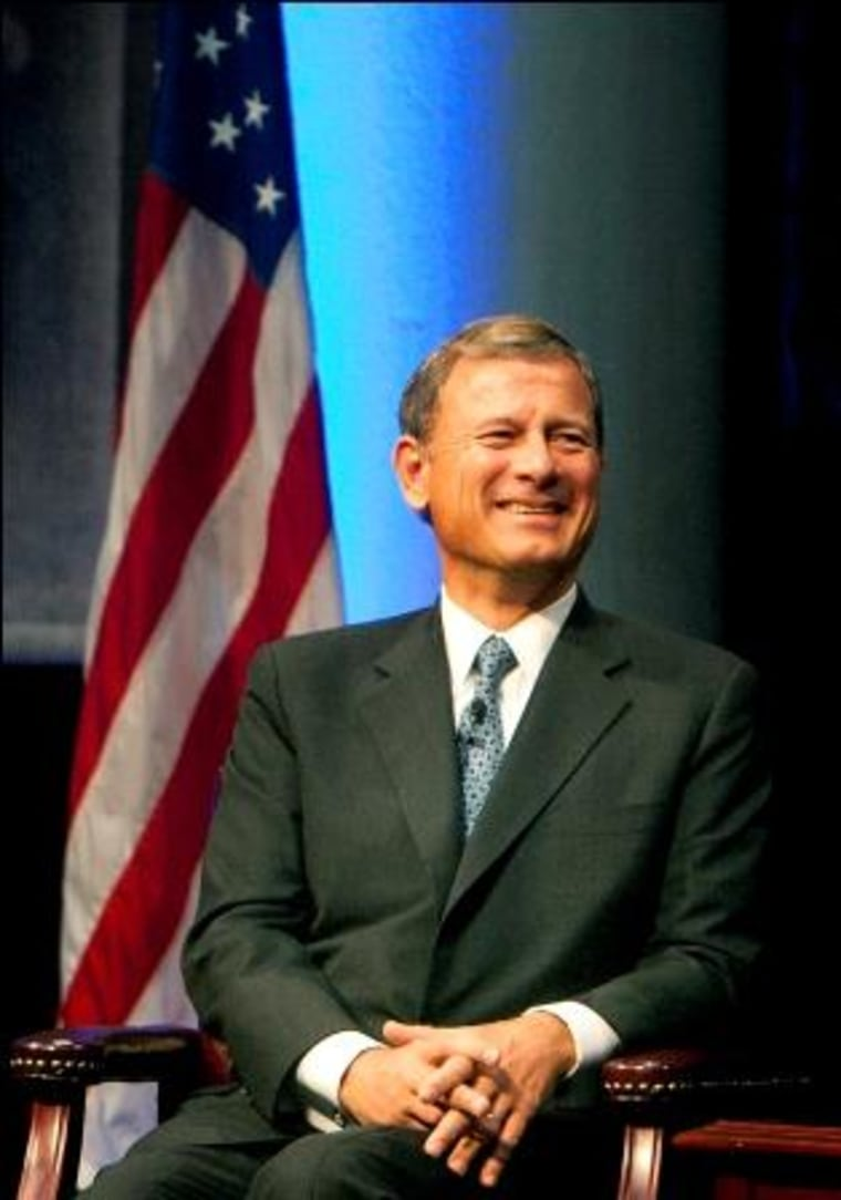 Chief Justice John Roberts: Liberal of the Year?(AP Photo/Houston Chronicle, Cody Duty)