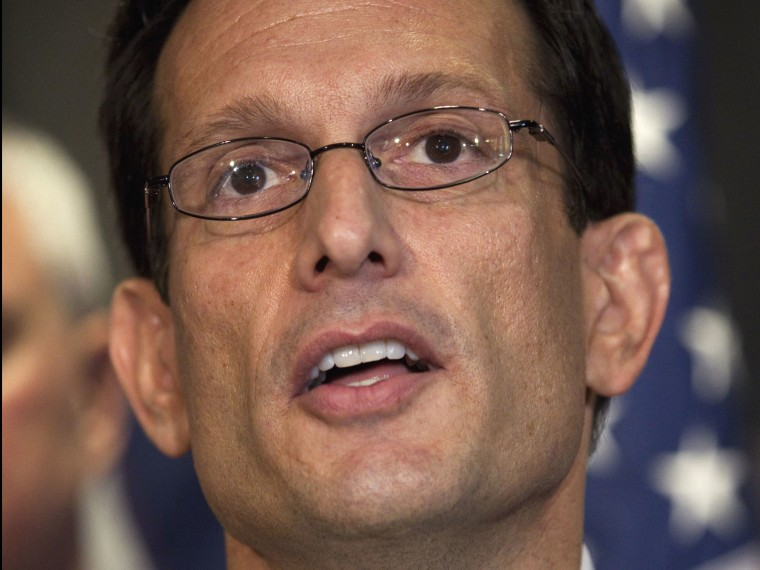 House Majority Leader Eric Cantor of Virginia (Evan Vucci/AP Photo)